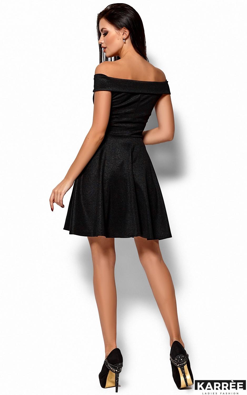 Платье Айла, Черный - фото 3