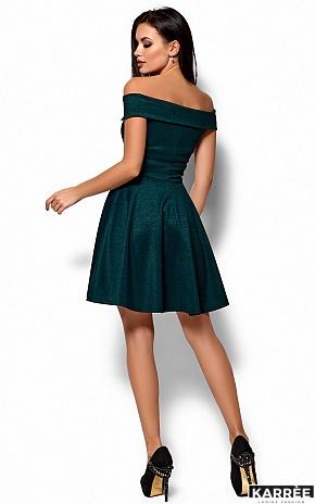 Платье Айла, Темно-зеленый - фото 3