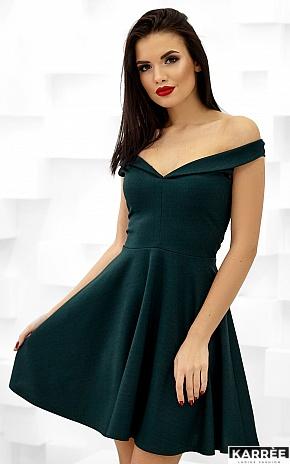 Платье Айла, Темно-зеленый - фото 5