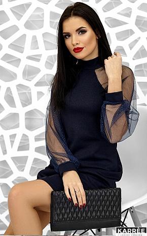 Платье Рената, Темно-синий - фото 5