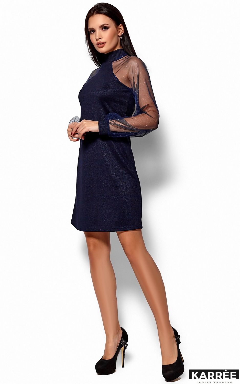 Платье Рената, Темно-синий - фото 4
