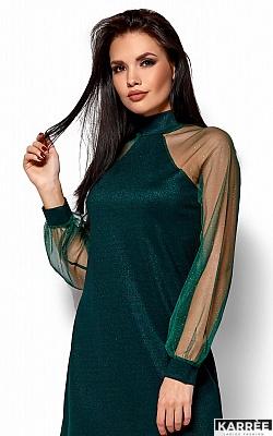 Платье Рената, Темно-зеленый