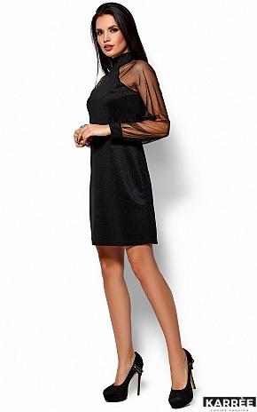 Платье Рената, Черный - фото 2