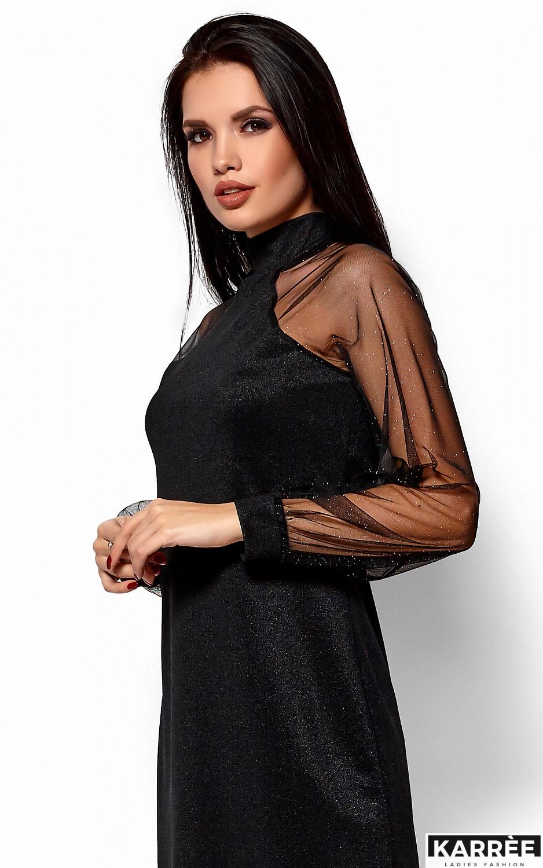 Платье Рената, Черный - фото 4