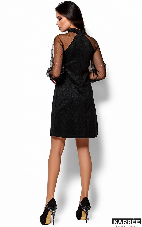 Платье Рената, Черный - фото 3