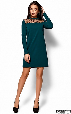 Платье Руби, Темно-зеленый - фото 1