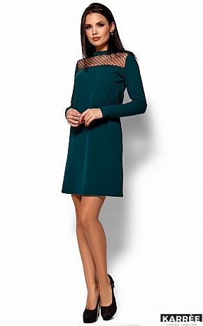Платье Руби, Темно-зеленый - фото 4