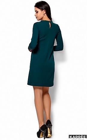 Платье Руби, Темно-зеленый - фото 3
