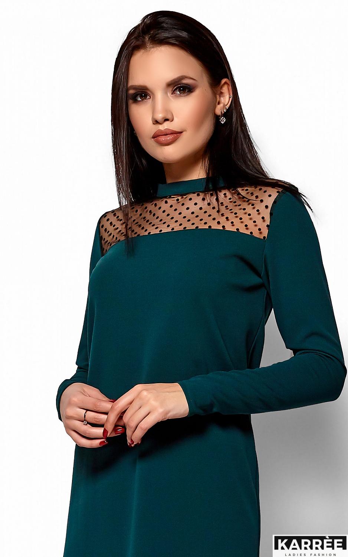 Платье Руби, Темно-зеленый - фото 2