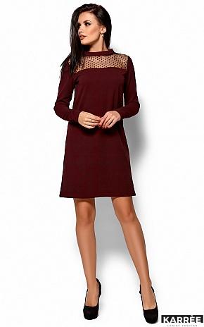 Платье Руби, Марсала - фото 4