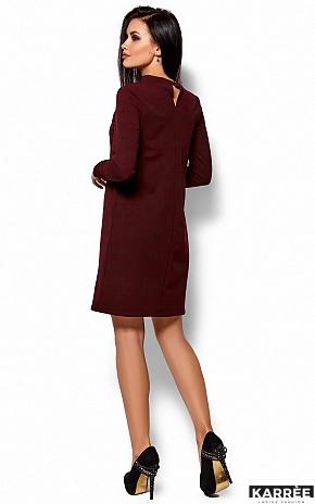 Платье Руби, Марсала - фото 3