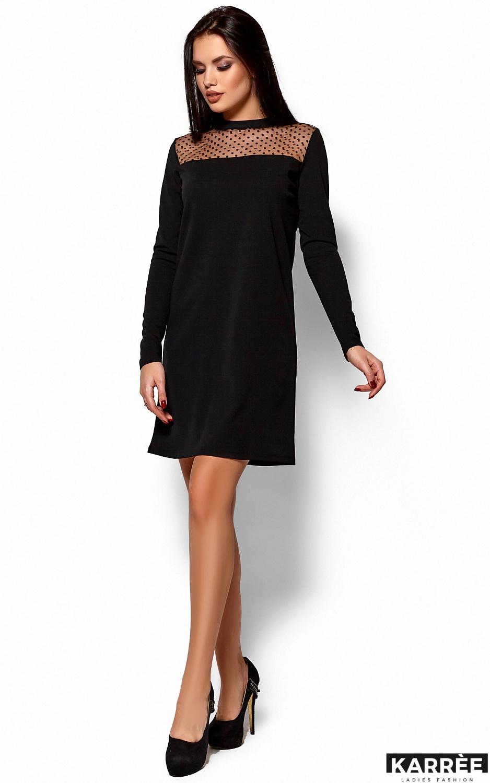 Платье Руби, Черный - фото 4