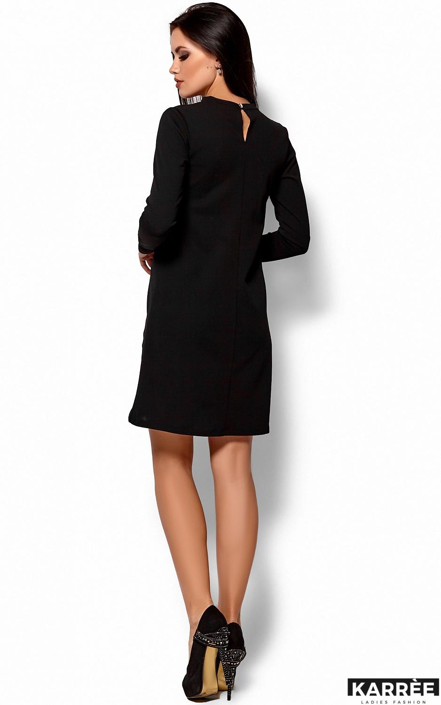 Платье Руби, Черный - фото 3