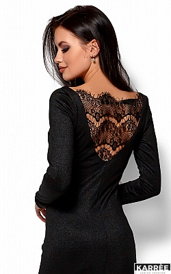 Платье Люси, Черный