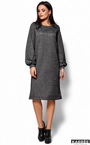 Платье Нино, Черный - фото 5