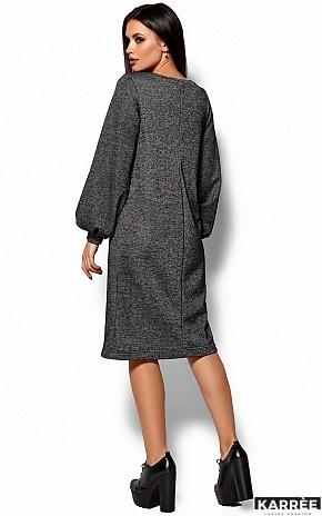 Платье Нино, Черный - фото 3