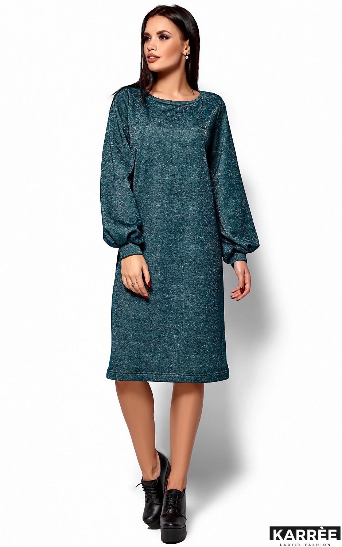 Платье Нино, Темно-зеленый - фото 1