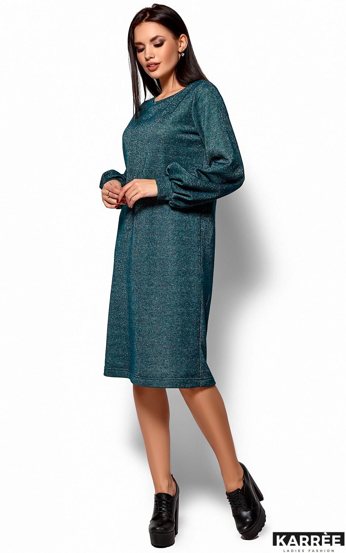 Платье Нино, Темно-зеленый - фото 4