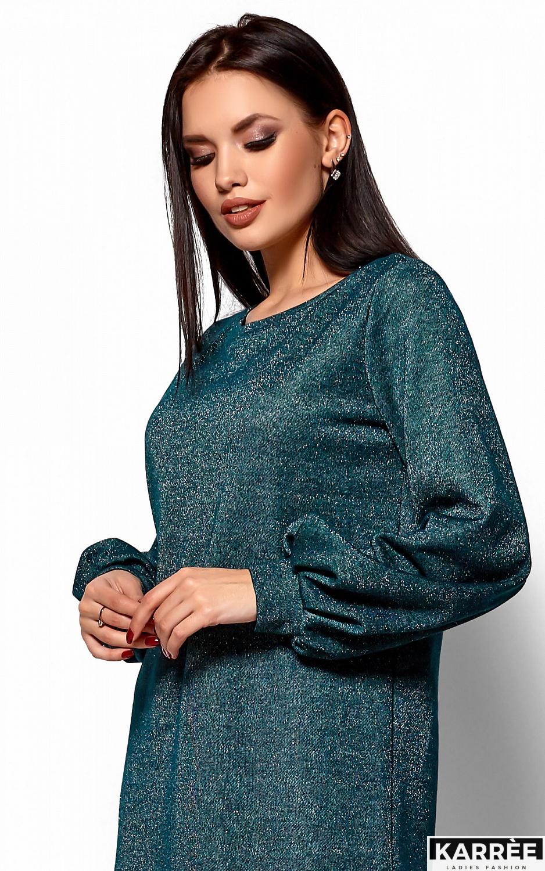 Платье Нино, Темно-зеленый - фото 2