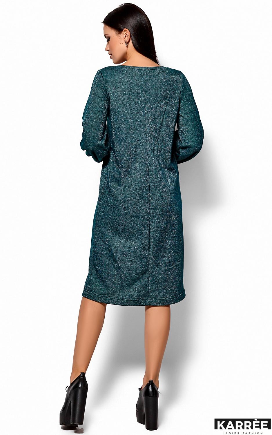 Платье Нино, Темно-зеленый - фото 3