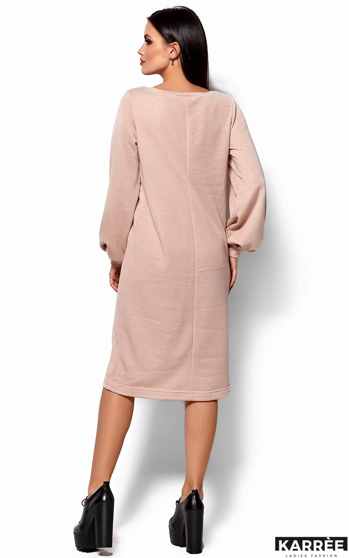 Платье Нино, Бежевый - фото 3