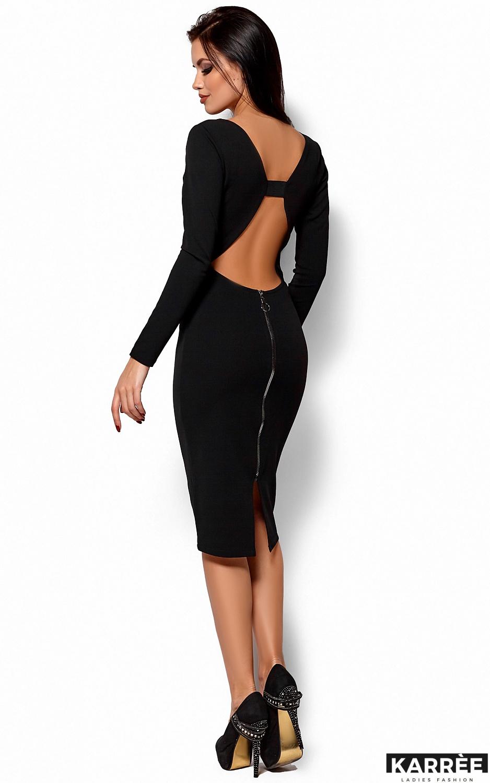 Платье Лола, Черный - фото 4