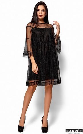 Платье Иви, Черный - фото 5