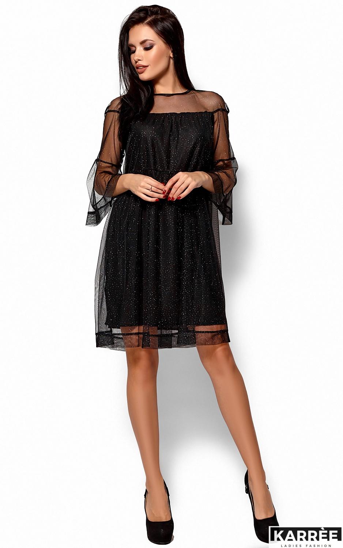 Платье Иви, Черный - фото 3