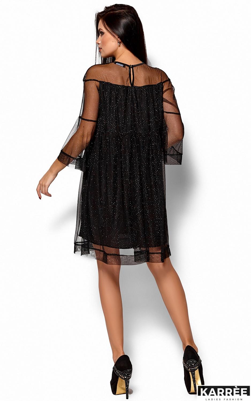 Платье Иви, Черный - фото 4