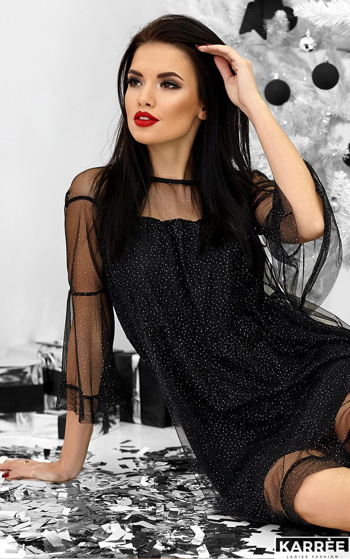 Платье Иви, Черный - фото 1