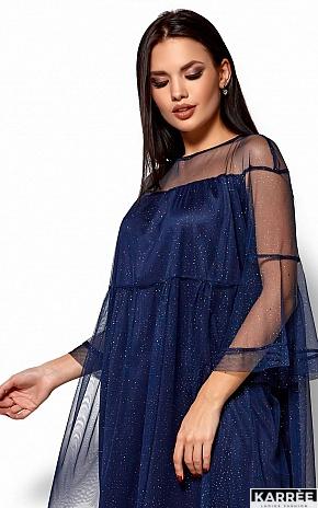 Платье Иви, Темно-синий - фото 2