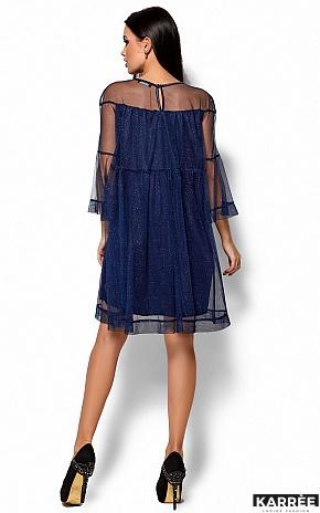 Платье Иви, Темно-синий - фото 3
