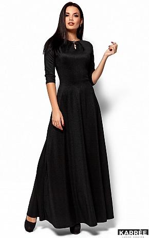 Платье Лилит, Черный - фото 4