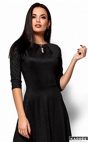Платье Лилит, Черный - фото 2