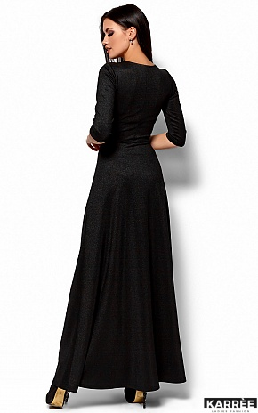 Платье Лилит, Черный - фото 3