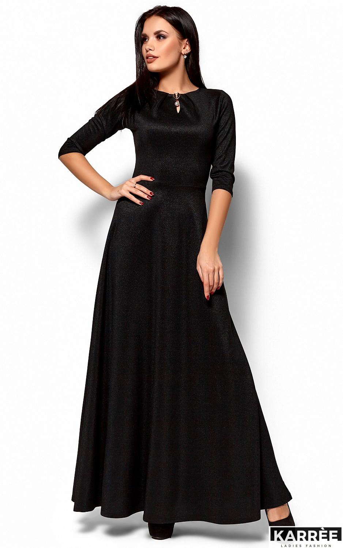Платье Лилит, Черный - фото 1