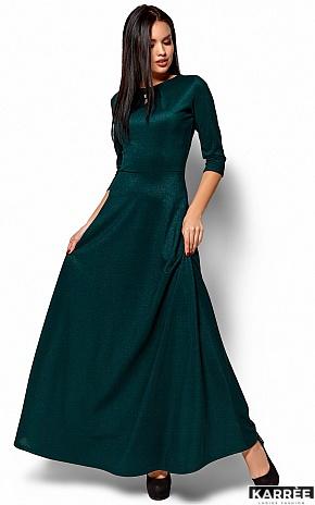 Платье Лилит, Темно-зеленый - фото 1
