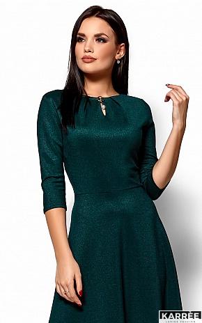Платье Лилит, Темно-зеленый - фото 2
