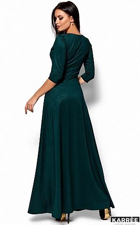 Платье Лилит, Темно-зеленый - фото 3
