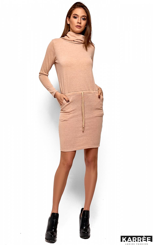 Платье Дилара, Бежевый - фото 2