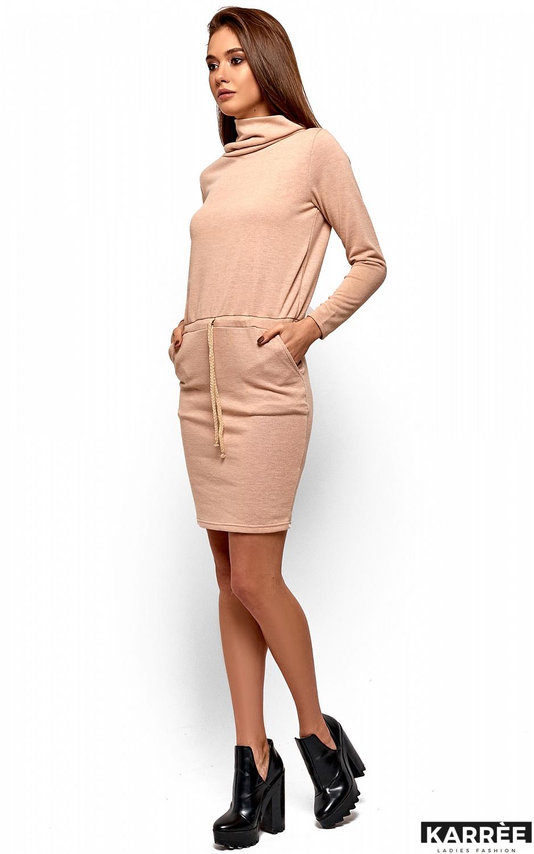 Платье Дилара, Бежевый - фото 3