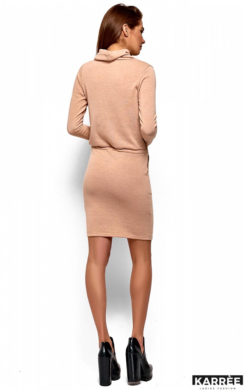 Платье Дилара, Бежевый - фото 4