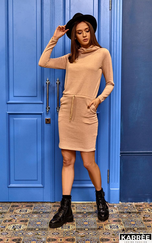 Платье Дилара, Бежевый - фото 1