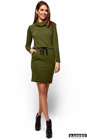 Платье Дилара, Хаки - фото 2