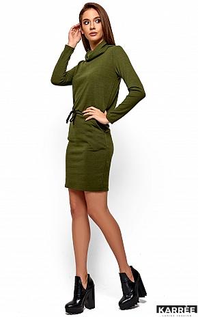 Платье Дилара, Хаки - фото 3