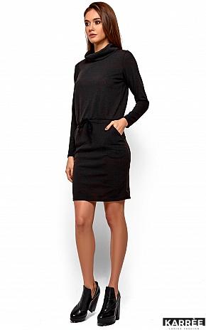 Платье Дилара, Черный - фото 3