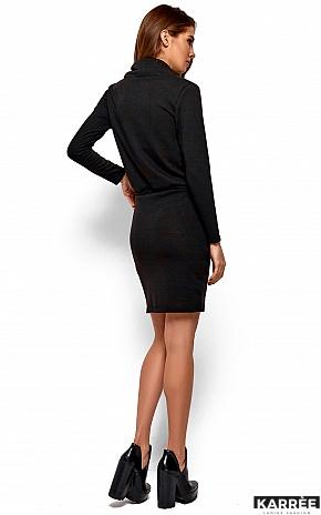 Платье Дилара, Черный - фото 4