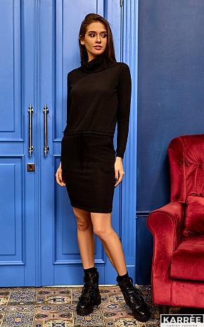 Платье Дилара, Черный - фото 1