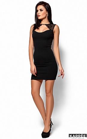 Платье Флоренс, Черный - фото 2