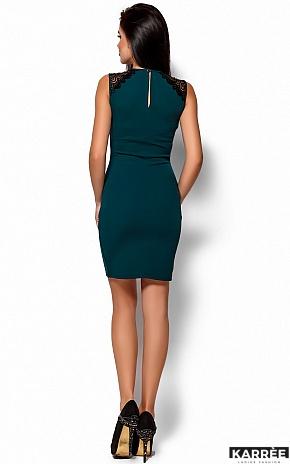 Платье Флоренс, Темно-зеленый - фото 3